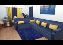 velvet sofa set +carpet + curtains +machining scenery