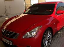 إنفنيتي G37 S حمراء اللون موديل 2008 رقم 1  سبورت بالإضافة إلى اكزوس إضافي