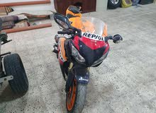 Honda motorbike made in 2011