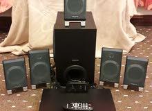 طقم سماعات كرياتف 5x1 مع dvd samsung