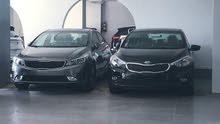 مطلوب جميع انواع السيارات للايجار بدون سائق
