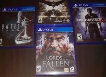 ألعاب PlayStation 4 للتبديل فقط