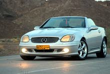 Mercedes Benz SLK 320 car for sale 2001 in Muscat city