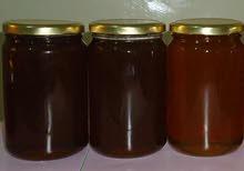 يوجد عسل طبيعي 100% عسل جبلي و عسل أزهار وشرط الفحص