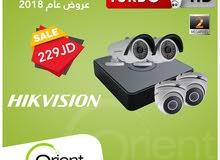 كاميرات مراقبة وأنظمة حماية