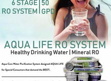 RO Purifier Under Sink 7 Stage Drinking Water Filter Aqua care uae
