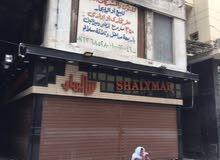 متجر 350 متر بوسط القاهرة الخديوية