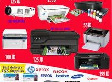 كافة انواع الطابعات باقل الاسعار (SAMSUNG , HP , RIHCO   ) وبروجكتر - PROJECTOR , سماعات , SPEAKER
