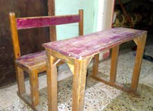 تخت ومقاعد حضانه بحاله جيده ت 01026514683
