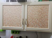 مطبخ الوميتال قطعتين alumetal kitchen cupboard 2 parts in perfect condition