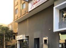 شقة دور اول علوي للتيجار تجاري مساحة 100 متر بجاور ماكدونلدز بني سويف الجديدة
