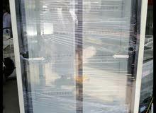 ثلاجة بابين زجاجي للبيع