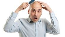 القضاء على تساقط الشعر والصلع