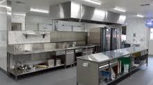 دراسة وتصميم المطاعم وتصنيع الاستنلس استيل مستشفيات مصانع غذائية منتجعات سياحية و غيرها