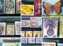 أكثر من 700قطعة عملة قديمة. واكثرمن4000طابع قديم وكلها للبيع