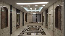 شقة للبيع 120م بمقدم 56 الف والباقي علي 80 شهر  علي شارع مدارس القدس الرئيسي ومرخصة
