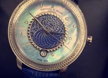 ساعات سويسرية اصليه نوع  H ماير محدودة الصنع .. رجالي + نسائي  .. يوجد بيع بالتقسيط