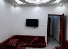 شقق مفروشه للايجار 4 غرف ومطبخ وصاله واثنين حمامات