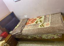 كنتور بابين ملحق توصاه صاج سرير عدد 2 موديل مكتبه كنتور ماليزي وسرير خشب