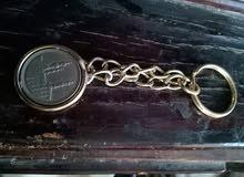 ميداليه معدنيه  بعملة قديمه للمفاتيح