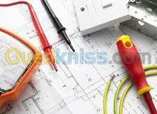 صاحب شركة (كهرباء البناء)