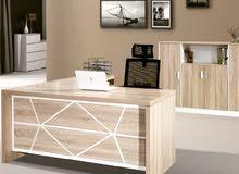 اثاث مكتبي شامل جديد مكاتب دراسية مكاتب موظفين ومدراء خشب وزجاج