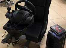 Ps3 with Logitech Driving Force wheel