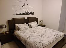 Super King bed,mattress and 2 night tables