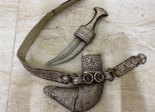 خنجر قديم بقرن زراف هندي