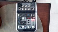 Behringer xenyx Q502USB mixer with USB audio Interface
