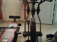 جهاز اوليبتكال مغناطيسي لتمارين كافة الجسم للبيع وجهاز بنش لتمارين البطن