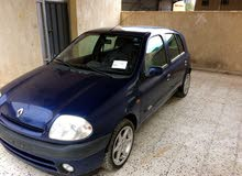 Blue Renault Clio 2000 for sale