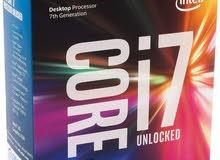 مطلوب CPU i7 7700K