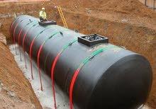 خزان وقود خاص لمحطات الوقود حسب المواصفات العالميه