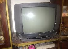 تلفزيون lg 14 بوصه +ثلاجه 14 قدم