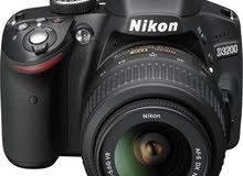 كاميرا نيكون D3200 مستعملة للبيع نظيفه جدا اخت الجديدة