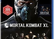 تعديل سعر لعبة  MORTAL KOMBAT XL مستخدم نظييييف للبيع