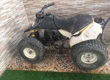 Used Suzuki motorbike up for sale in Muscat