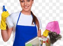 متوفر عاملات ........ لتنظيف ......... المنازل والشقق