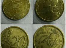 عملات نقدية قديمة بحالة جيدة