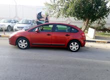 Red Citroen C4 2005 for sale