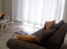 شقة جديدة مفروشة فرش جديد للبيع لظرف طارئ في إسطنبول الأوروبية اسنيورت ذات إطلال