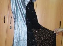 فستان سهرة شبه جديد بسعر مغري