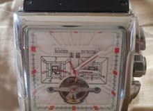 ساعة روجيه دوبوى ROGER DUBUIS سويسرى اتوماتيك ضد الماء