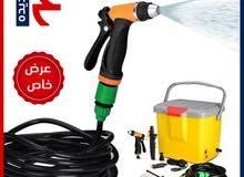 مضخة غسيل السياره المطوره بسعر خاص و اغسل سيارتك بنفسك