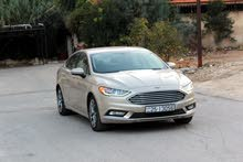 Beige Ford Fusion 2017 for sale