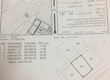 للبيع ارض في ولاية صحار منطقة حي الرفعة منطقة حيوية مساحة الارض 646