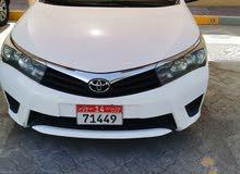 Toyota Corolla 2014. Very good condition. GCC SPECS.