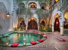 رياض بوسط مدينة مراكش