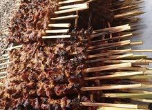 مشاكيك طازجه لحم غنم ولحم بوش ولحم بقر